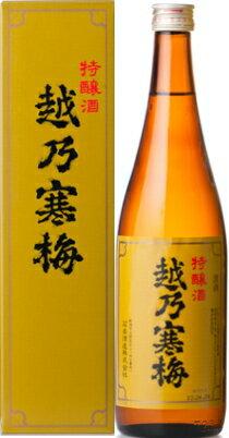 越乃寒梅 特醸酒 大吟醸 720ml