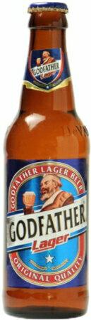 ゴッドファーザー ラガー 瓶 330ml×24本 (インド・ビール)
