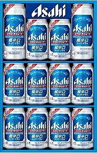 【送料無料】北海道・九州・沖縄は別途送料 アサヒ スーパードライ エクストラシャープ ビール ギフト セット SE-3N 350ml×10缶と500ml×2缶 SP3N DRY k1602