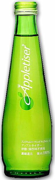 衝撃放出【送料無料】北海道・九州・沖縄は別途送料 さわやか炭酸と果汁ジュースのいいところどり♪ アップルタイザー Appletiser 275ml×24本 リードオフジャパン【新入荷品】ラベル変ることがあります