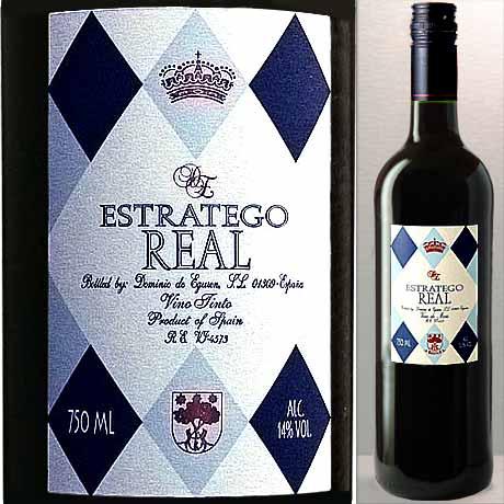 楽天最安値に挑戦中! エストラテゴ・レアル ティント 赤 正規品 750ml (スペイン・ワイン)