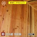 【訳あり】杉 羽目板(壁・天井用)(木材 11×160×1985 10枚入り)1束 ●本実目透し加工日曜大工 DIYに