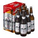【送料無料】アサヒビール/アサヒスーパードライ大びん半ダース詰セットEX-6