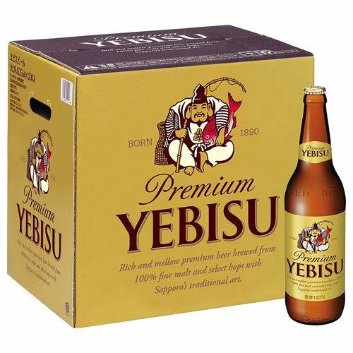 【送料無料】★サッポロ ヱビスビール大びん12本入 YB12
