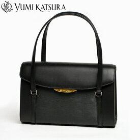 9d24a72327b0 【YUMI KATSURA/桂由美 プロデュース】 気品漂うエレガントなブラックフォーマルバッグ。