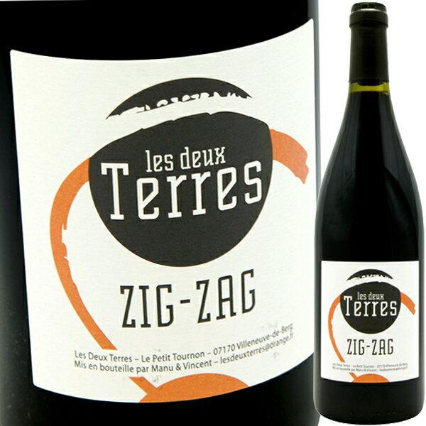 ジグザグ [2016]ドメーヌ・レ・ドゥー・テールDomaine Les Deux Terres Zig-Zag Rouge