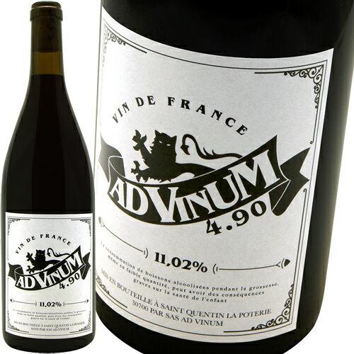 4.90 [2016] アド・ヴィヌムAd Vinum 4.90 Rouge
