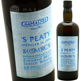 サマローリ・ピーティ 45%(2018エディション)サマローリSamaroli Samaroli S'Peaty Blended Malt Scotch Whisky