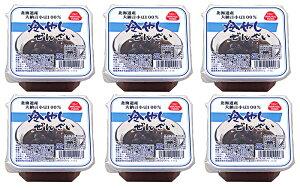 冷やしぜんざい詰合せ6個入り 北海道産大納言小豆使用・えぐみのない優しい甘味