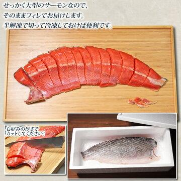 紅鮭寒風干し【送料無料】