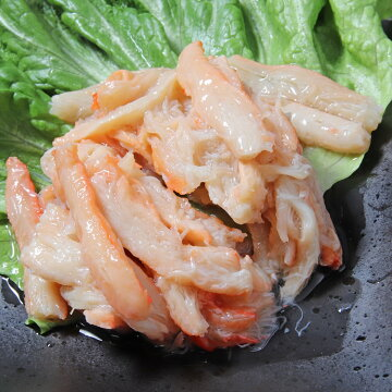 紅ずわいがに一番脚肉(ジャングルパック)缶詰