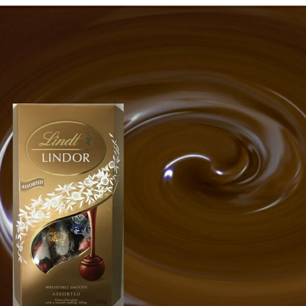 リンツリンドール トリュフチョコレート ビッグサイズ 50個 LINDOR ASSORTED (ミルク・ホワイト・ヘゼルナッツ・ビーター) リンツ ギフト リンドール ハロウィン