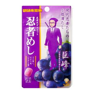 【UHA味覚糖】旨味シゲキックス 忍者めし 巨峰 (20g×10袋)