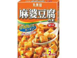 【送料無料】丸美屋食品工業 丸美屋 麻婆豆腐の素 甘口 箱入 162g