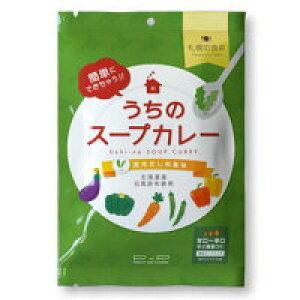 【送料無料】ピー・アンド・ピー 札幌の食卓 うちのスープカレー 昆布だし和風味 102g ×3個