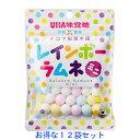 12袋セット【UHA味覚糖 × イコマ製菓本舗 レインボーラムネ ミニ 40G×12袋】 送料無料 UHA味覚糖