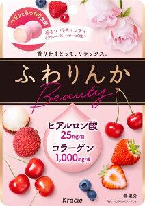 【送料無料】クラシエ ふわりんか ビューティーローズ味 60g×10袋