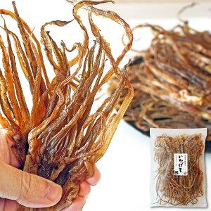 珍味 おつまみ するめ いかげそ(足) 192g 大小サイズ混在 本場函館製造 イカゲソ 北海道産 スルメ 無添加
