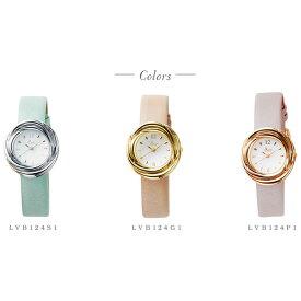 【送料無料】腕時計 レディース 牛革ベルト フラワー ウォッチ ラヴィンブーケ LOV-IN Bouquet LVB124 日本製