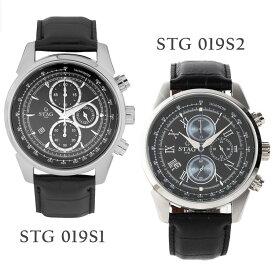 【送料無料】腕時計 メンズ 男性用ウォッチ STAG TYO スタッグ 時計 STG019 国産高性能クロノグラフムーヴメント 日本製【メーカー保証】