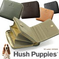 HushPuppiesハッシュパピーニック財布2つ折り小銭入れラウンドファスナー牛革全4色HP0608