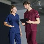7061SCスクラブ白衣FOLKフォークディッキーズ医療白衣看護白衣病院白衣