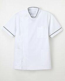 HO-1962 半袖 医療 ナガイレーベン ドクターウェア 男子横掛 看護白衣 医療白衣 半袖 NAGAILEBEN HO1962