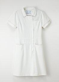 LH-6217 女性 白衣 ワンピース 半袖 白衣 ナースウェア Naway ナウェイ 医療白衣 看護白衣 NAGAILEBEN LH6217【白衣】