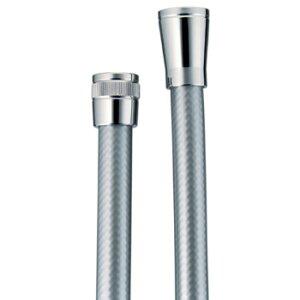 水栓材料カクダイシャワホース//シルバー、1800【371-701】