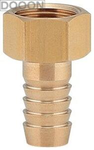 カクダイ 水栓材料 ナットつきホースニップル【613-36-1/2X12.0】[新品]【RCP】
