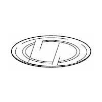 シャープ[SHARP] オプション・消耗品 【3502930149】 電子レンジ用 丸皿(ガラス製)(350 293 0149) [新品]【RCP】