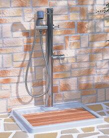 ペットも大満足!お湯が使える混合水栓仕様 【LF-932S】 INAX LIXIL・リクシル ペット用水栓柱 湯側開度規制なし[新品]【RCP】