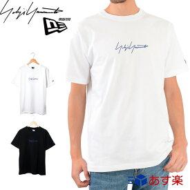 ヨウジヤマモト ニューエラ Tシャツ 半袖 ロゴ トップス SS19 【Yohji yamamoto NEW ERA メンズ レディース おしゃれ かわいい ブランド 正規品 新品 2019年 ギフト プレゼント】 [S] バレンタイン チョコ以外