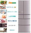 三菱電機 470L 6ドア置けるスマート大容量冷蔵庫 MR-JX47LA-N 設置無料