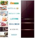 三菱 517L 6ドア置けるスマート大容量 切れちゃう瞬冷凍 冷蔵庫 MR-WX52A-BR 設置無料