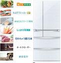 三菱 700L 6ドア置けるスマート大容量 切れちゃう瞬冷凍 冷蔵庫 MR-WX70A-W 設置無料