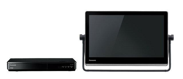 パナソニック ブルーレイディスクプレーヤー/HDDレコーダー付ポータブル地上・BS・110度CS デジタルテレビUN-15TD7-K