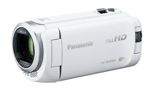 パナソニック デジタルハイビジョンビデオカメラ HC-W585M-W