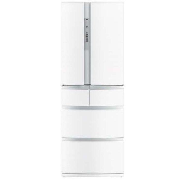 基本設置無料 三菱電機 置けるスマート大容量 切れちゃう瞬冷凍 461L 6ドア冷蔵庫 MR-RX46C-W 重量106kg