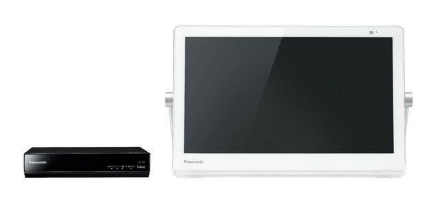 パナソニック HDDレコーダー付ポータブル地上・BS・110度CSデジタルテレビUN-15T8-W