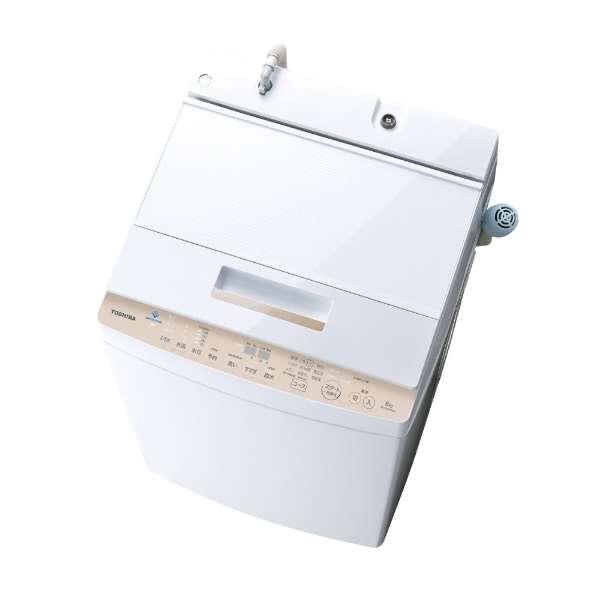 東芝 ZABOON 8.0kg 全自動洗濯機 AW-8D7-W