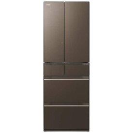 【基本設置無料】日立 HWシリーズ 520L 6ドア冷蔵庫 R-HW52K-XH 創業73年、新品不良交換対応
