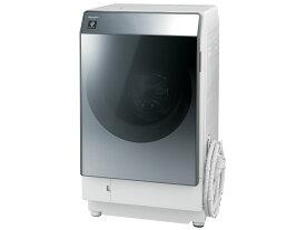 【お届け約1〜2ヶ月ご予約受付中】シャープ 11.0kg ドラム式洗濯乾燥機【←左開き】ES-W112-SL
