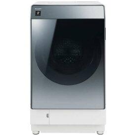 【お届け約1〜2ヶ月ご予約受付中】シャープ 11.0kg ドラム式洗濯乾燥機【→右開きES-W112-SR