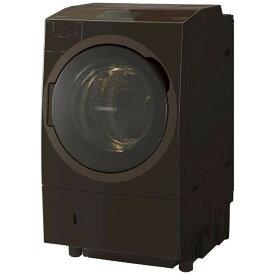 【次回2月下旬頃】東芝 ZABOON ドラム式洗濯乾燥機【→右開き】 TW-127X8R-T