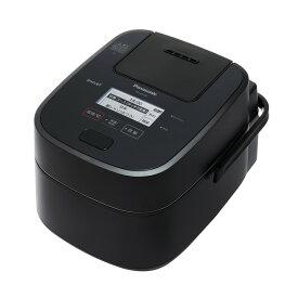 【5年延長保証無料進呈】パナソニック スチーム&可変圧力IHジャー炊飯器 SR-VSX100-K