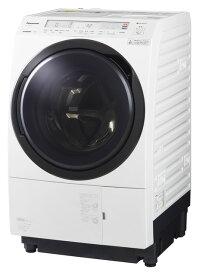 【標準設置無料】パナソニック 11.0kg ななめドラム洗濯乾燥機【←左開き】NA-VX800BL-W