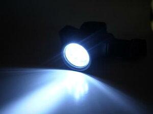 【新商品!!】【眩しいくらいの高輝度12LEDヘッドライト(ブラック)】10P25oct10/10P23oct10