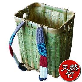 ランキング1位受賞・あす楽送料無料【竹製背負いかご角型・大】