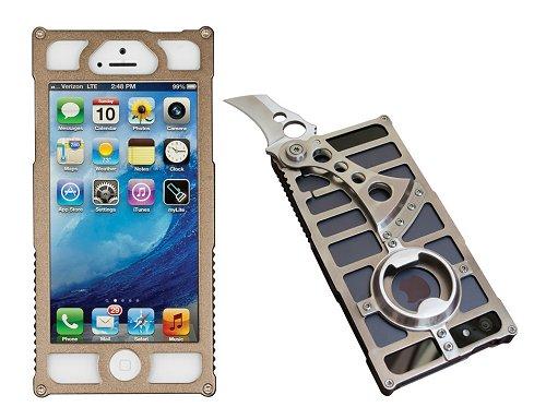 TactiCall Alpha 1 (タクティカル アルファ 1)iPhone 5 Case Desert Tan I PHONE 5用ケース デザートタンナイフ ボトルオープナー付